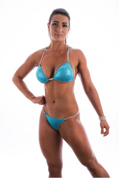 Blue Shimmer Glam Fit Bikini