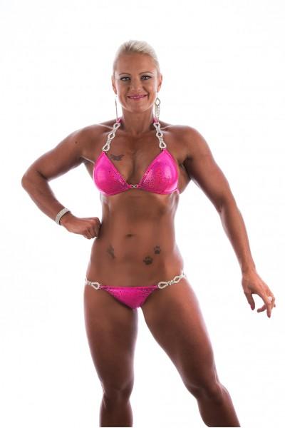 Pink Claire Skeet Creative Bikini