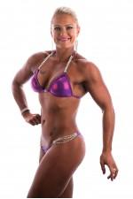 Purple Claire Skeet Creative Bikini