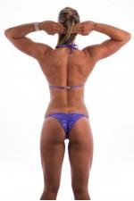Purple Shimmer Kristen Lonie Bikini