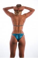 Blue/Green Suzi Q Bikini