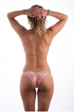 Coral Muscle Dazzle Bikini